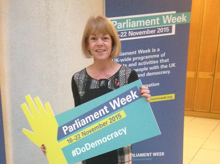 Shelfield Ormiston Academy visit Westminster during Parliament Week