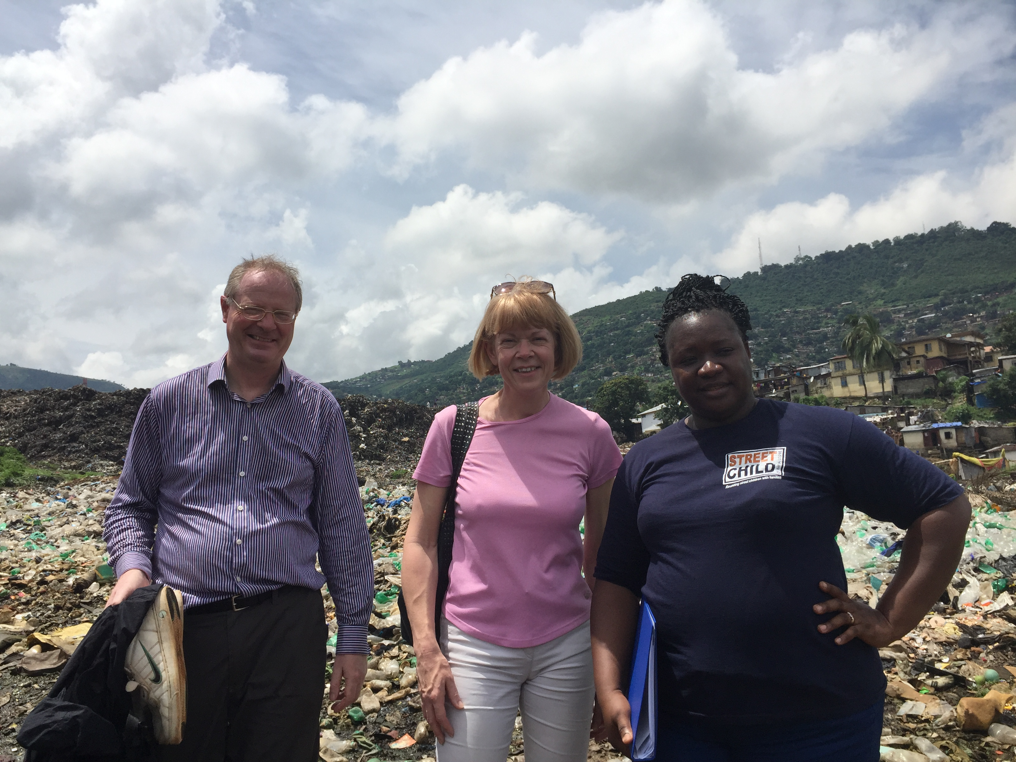 A return visit to Sierra Leone.