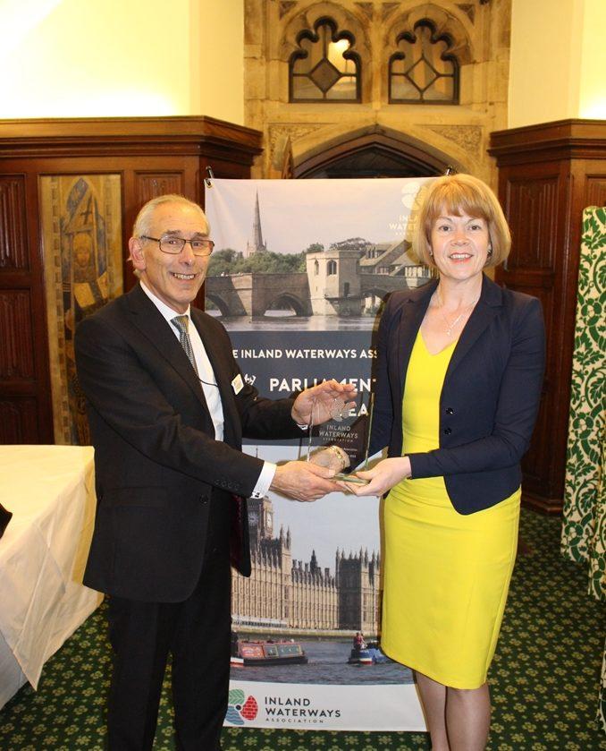 Inland Waterways Parliamentarian of the Year 2018