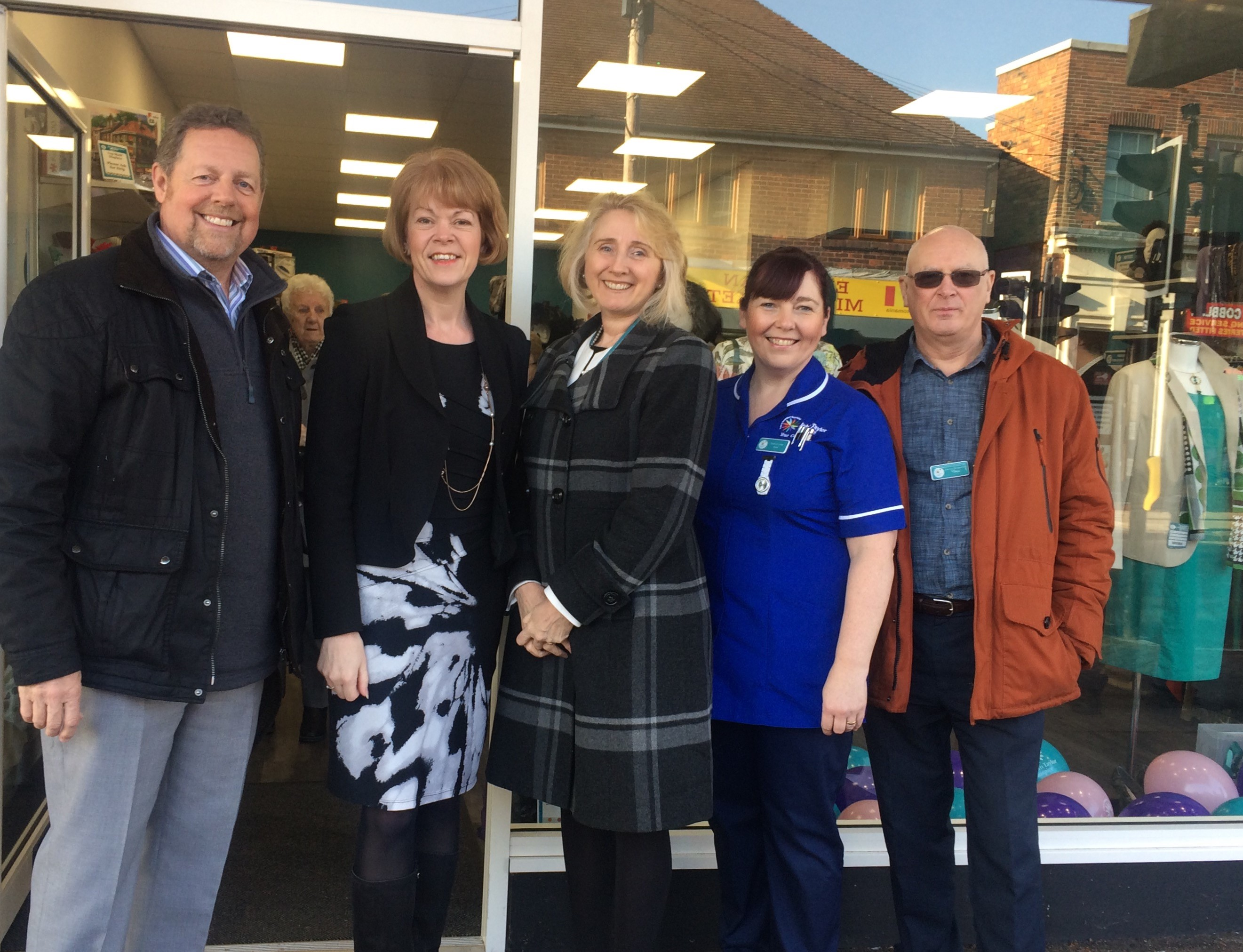 Welcoming John Taylor Hospice Shop to Brownhills!