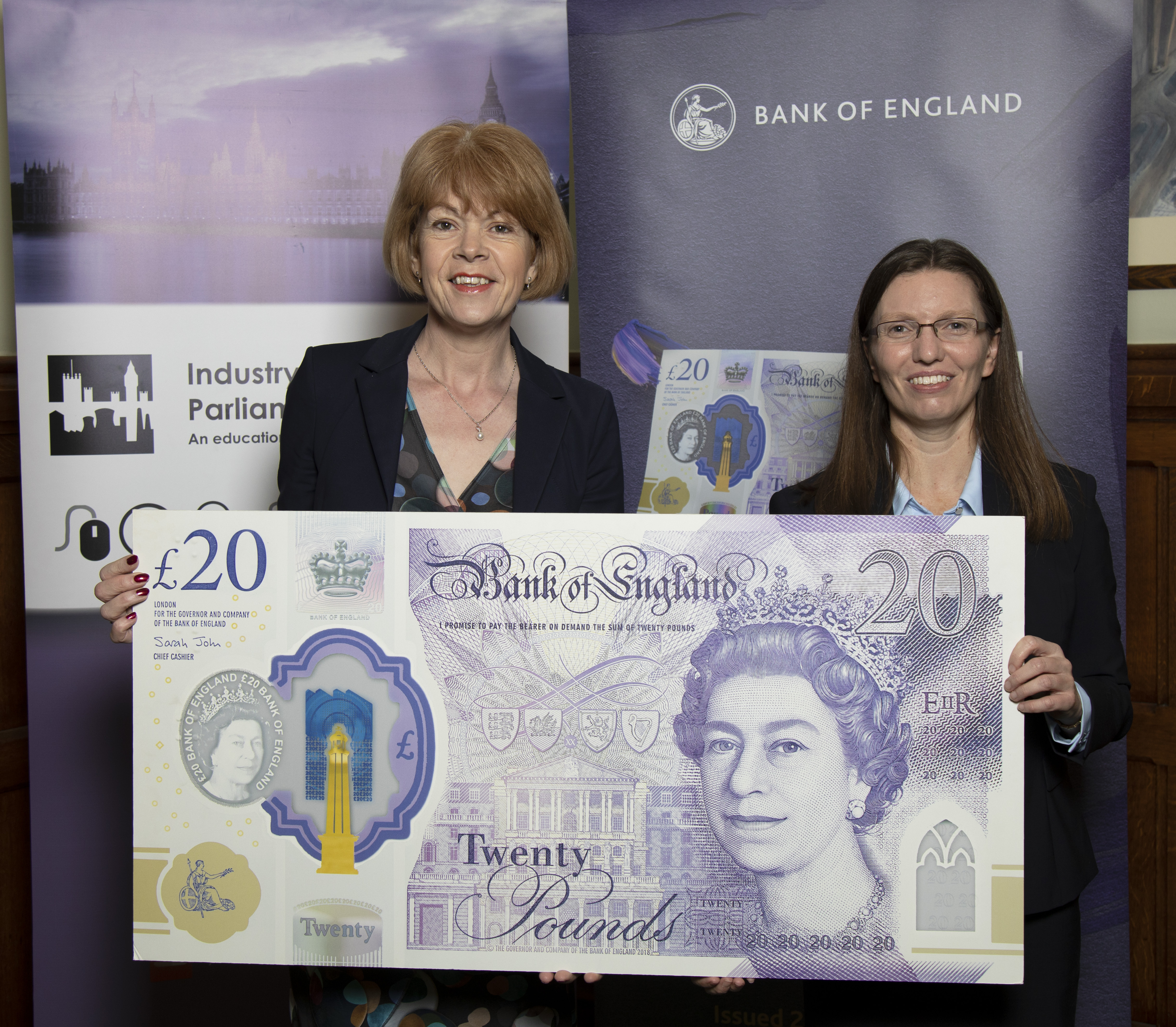 Watch out for the new £20 Note!