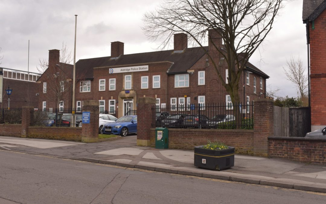 Aldridge Police Station Update!