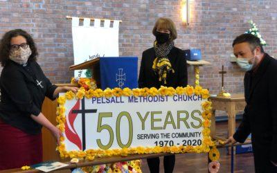 Celebrating Pelsall Methodist Church's 50th Anniversary!