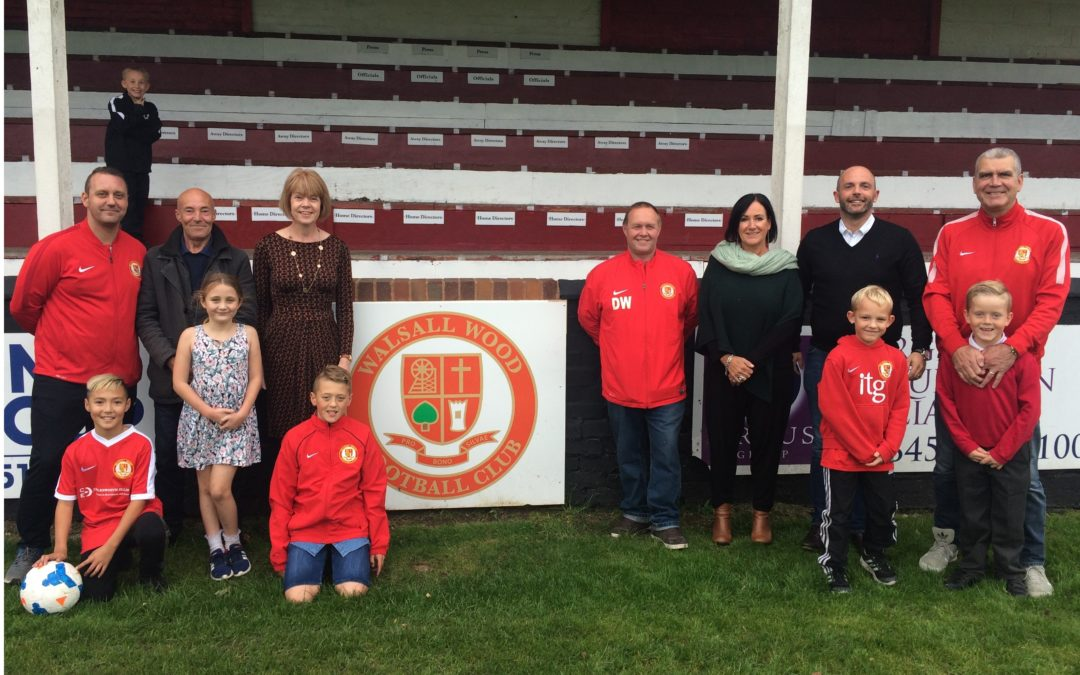 Funding Boost for Walsall Wood FC & Rushall Olympic