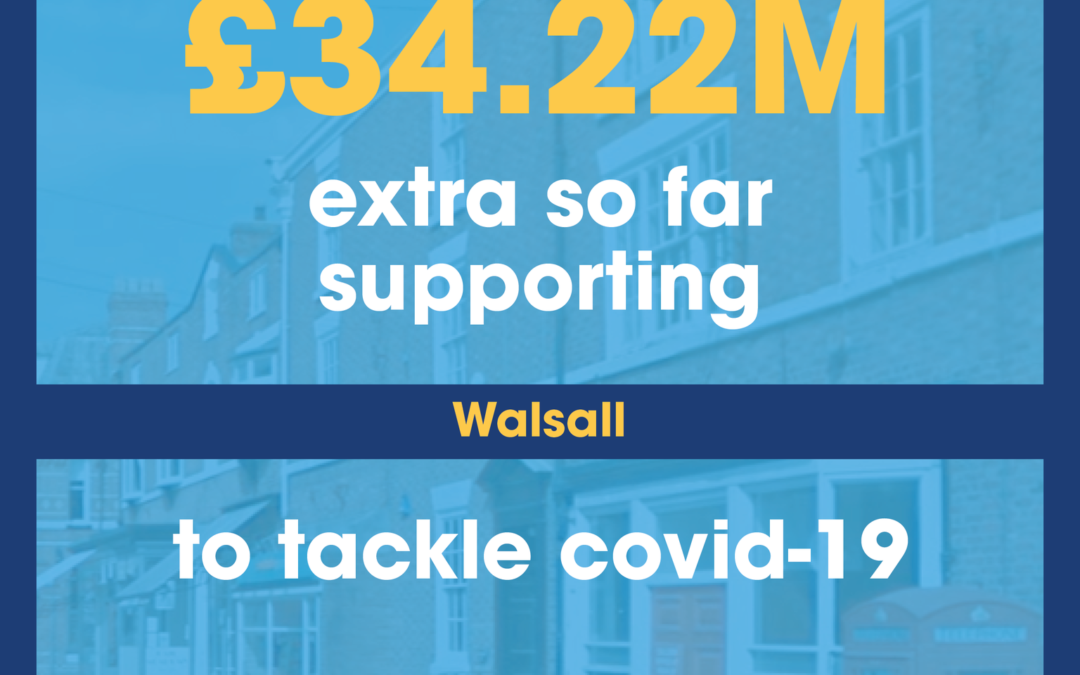 Further funding boost for Walsall Council!