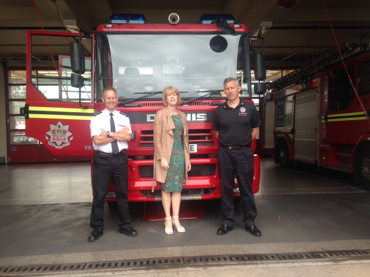 Aldridge Fire Station, Walsall Housing Group & Severn Trent Water visits