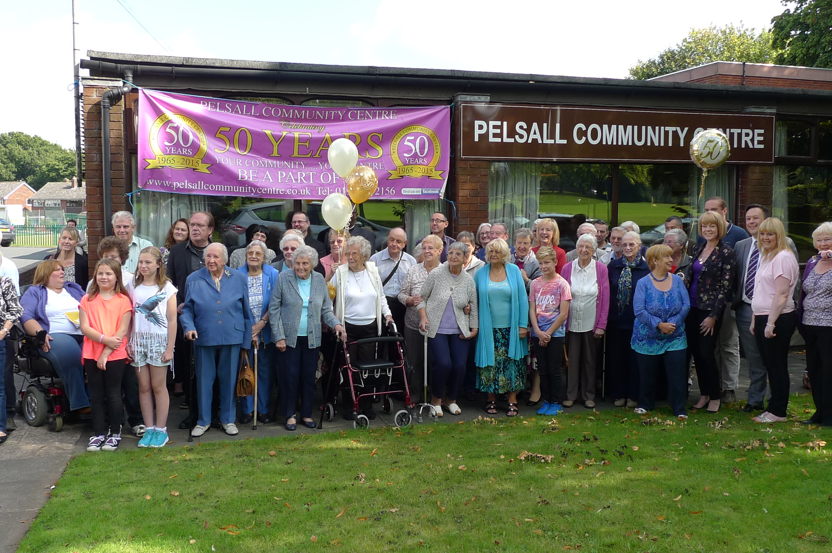 Pelsall Community Centre's Golden Anniversary