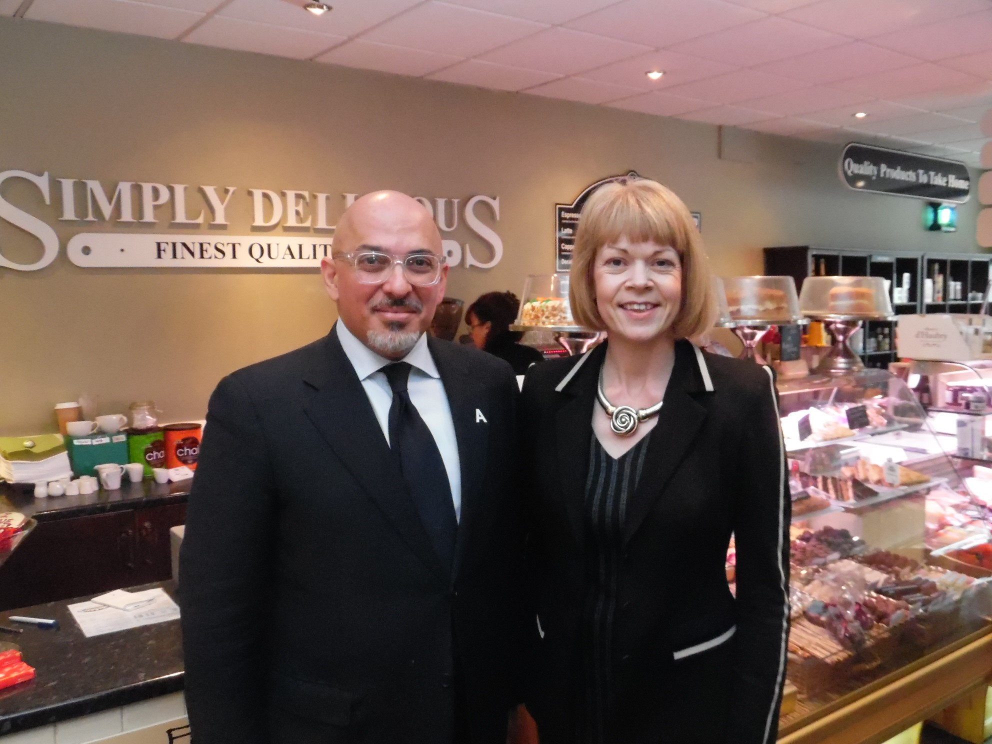 "A ""Simply Delicious"" Business Breakfast with Nadhim Zahawi MP"