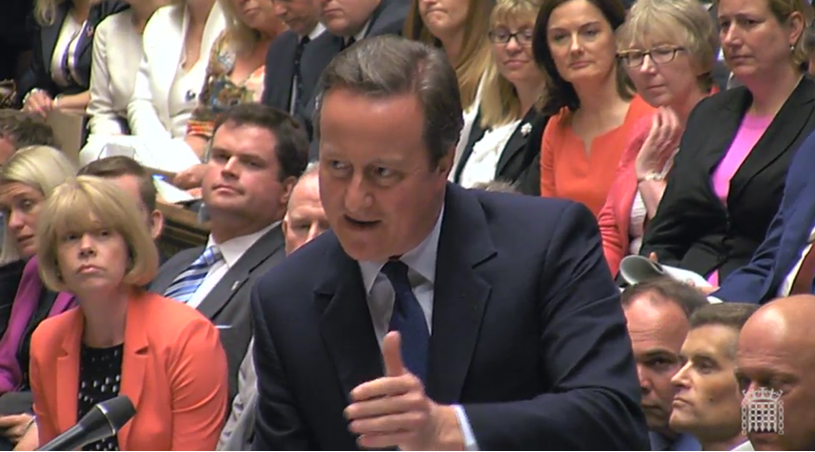 Rt. Hon. David Cameron's Last PMQ's