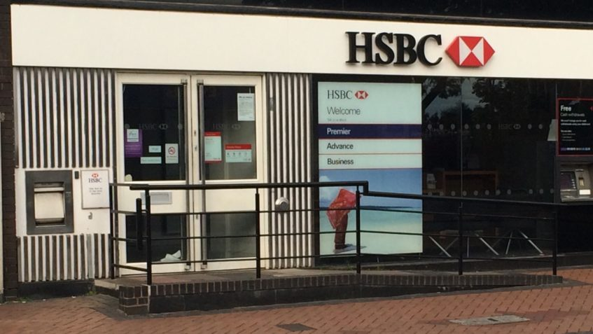 HSBC Brownhills Closure – Wendy Morton