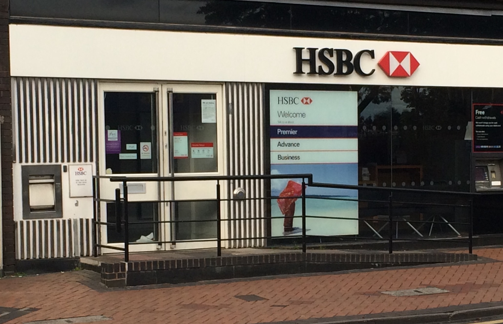 HSBC Brownhills Closure