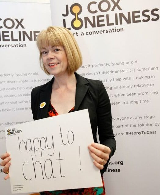 Wendy pledges to tackle loneliness amongst older people at the Jo Cox Loneliness Commission's older people event