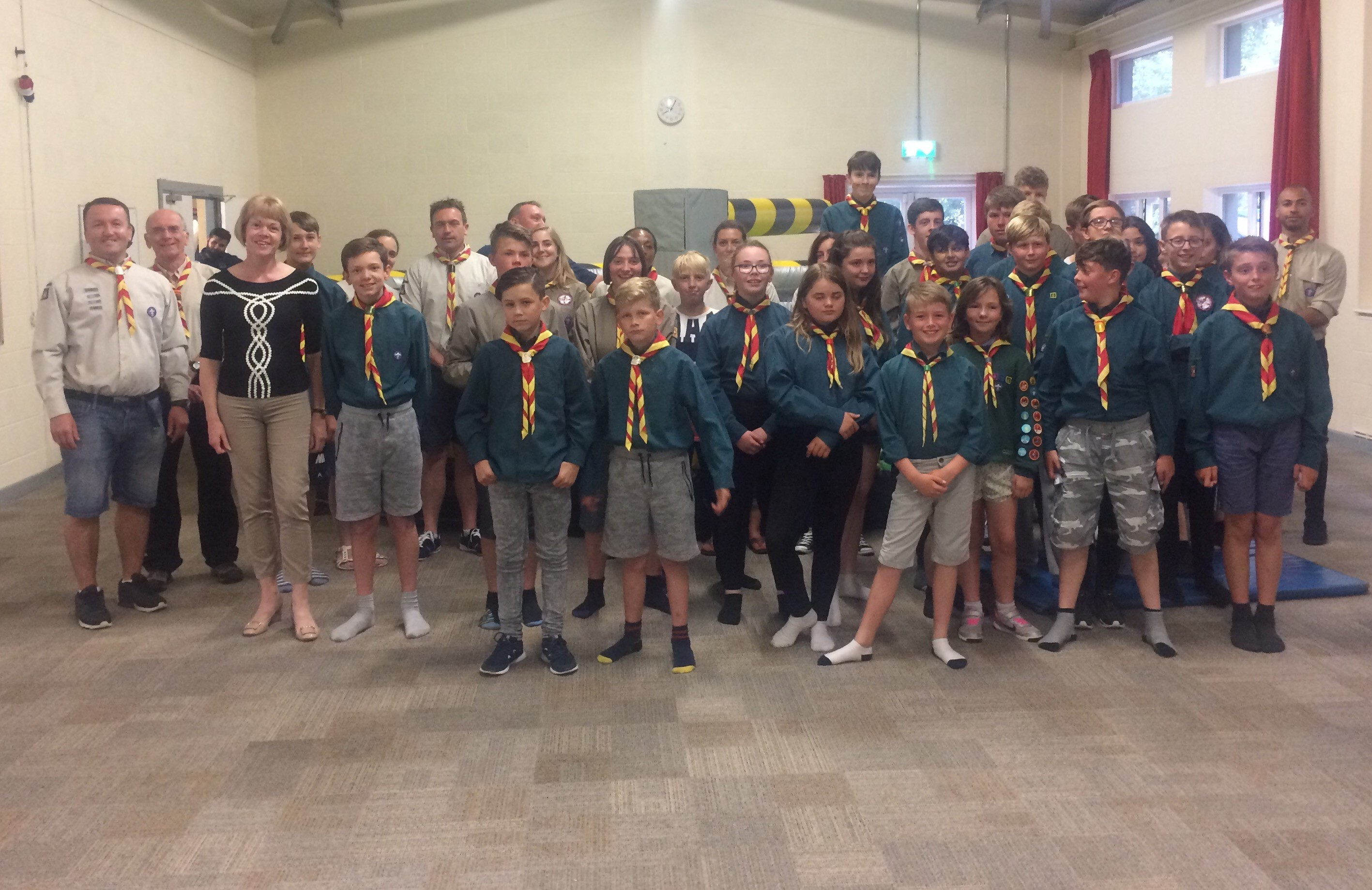 Congratulations to 31st Sutton Coldfield West Scouts in Streetly