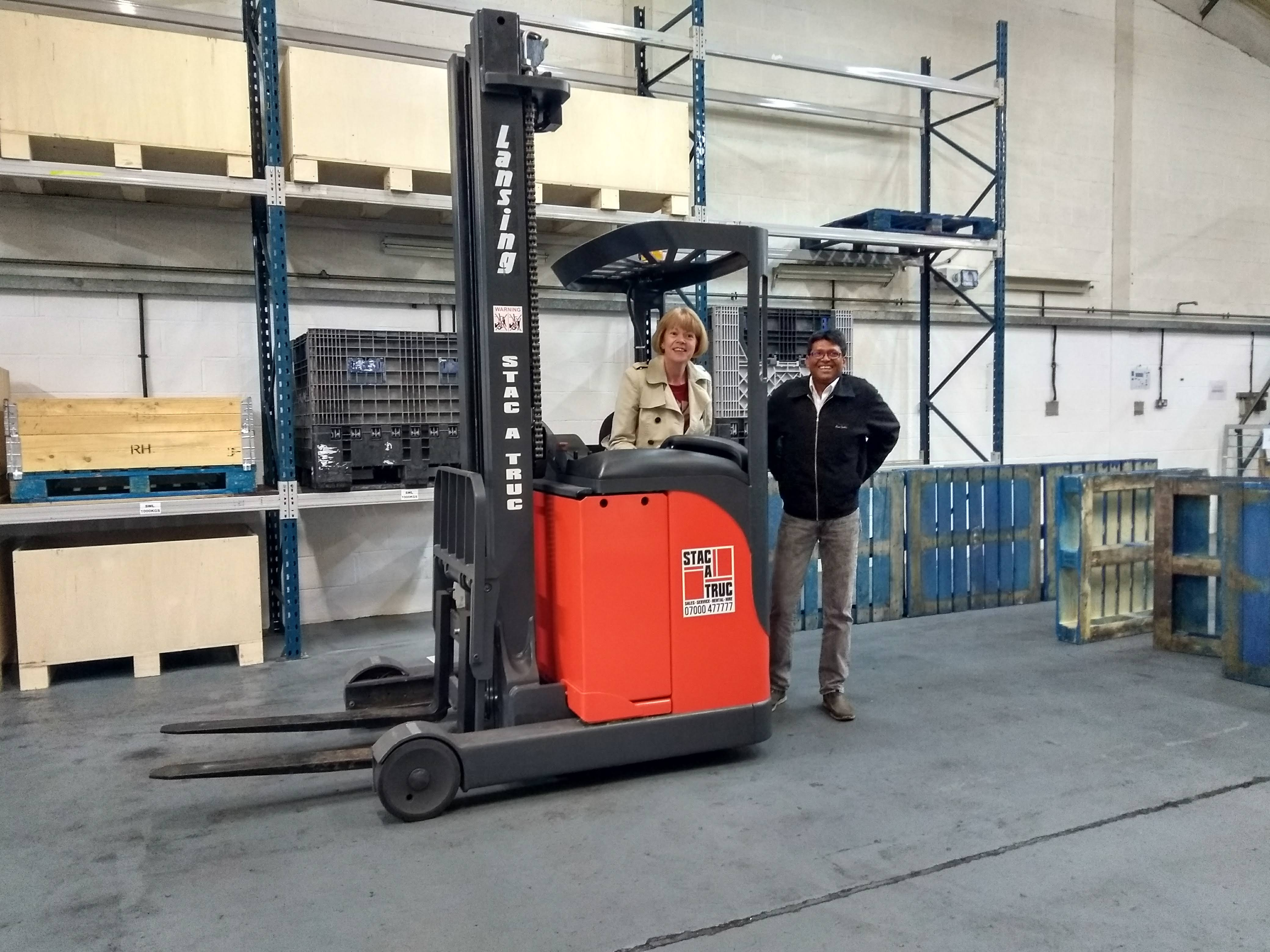 A Training Course – Forklift Style