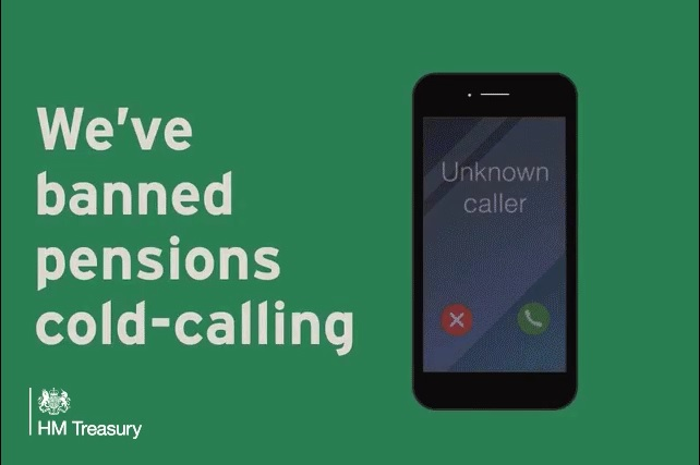 Pensions Cold Calling Ban – A Welcome Step!