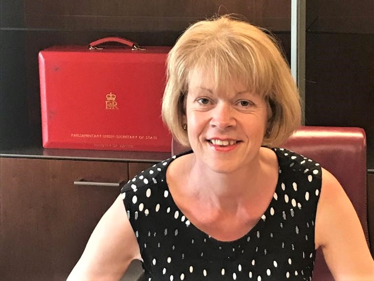 Wendy Morton joins the Ministry of Justice as Parliamentary Under Secretary of State