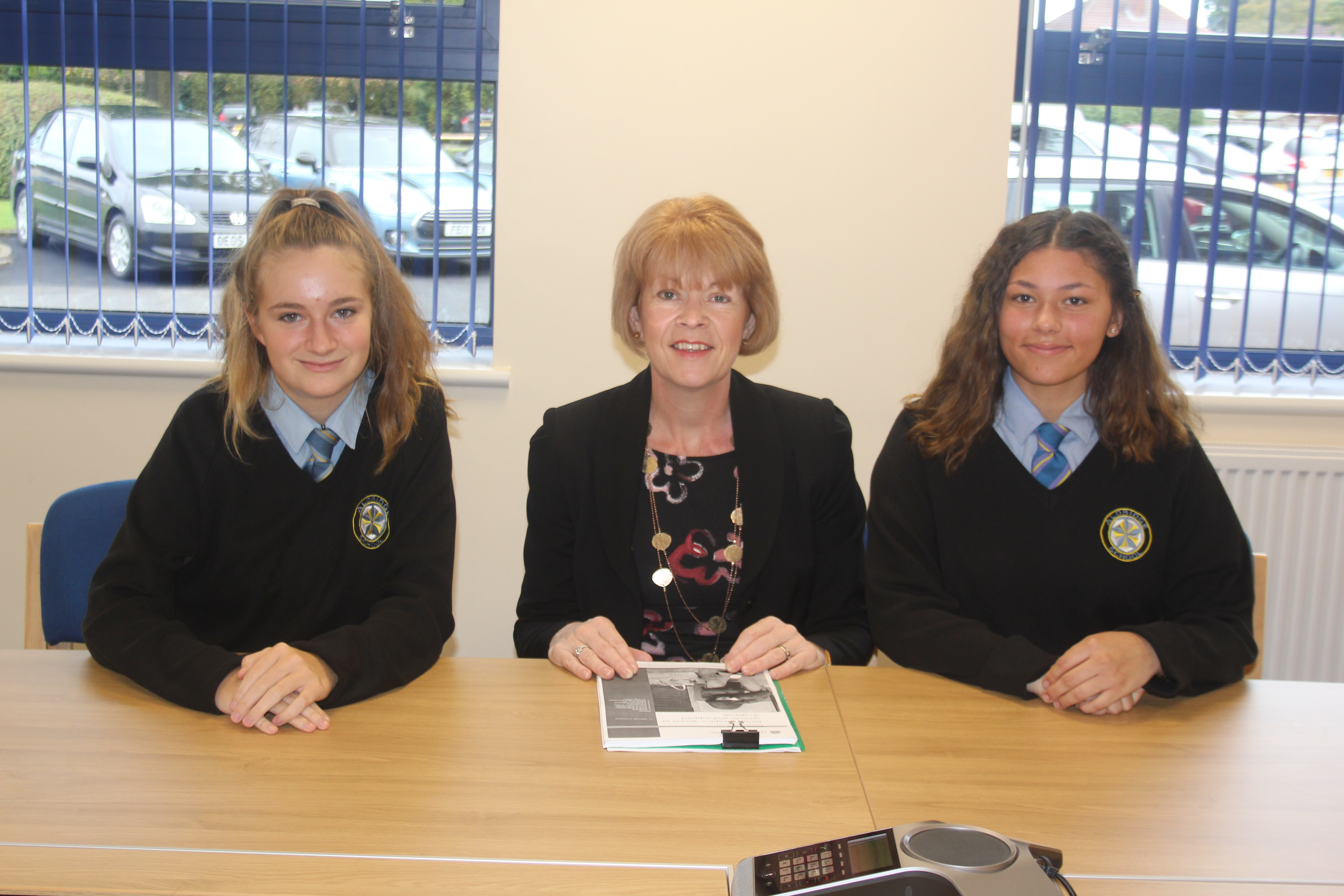 Discussion and interview with Citizenship Students at Aldridge School