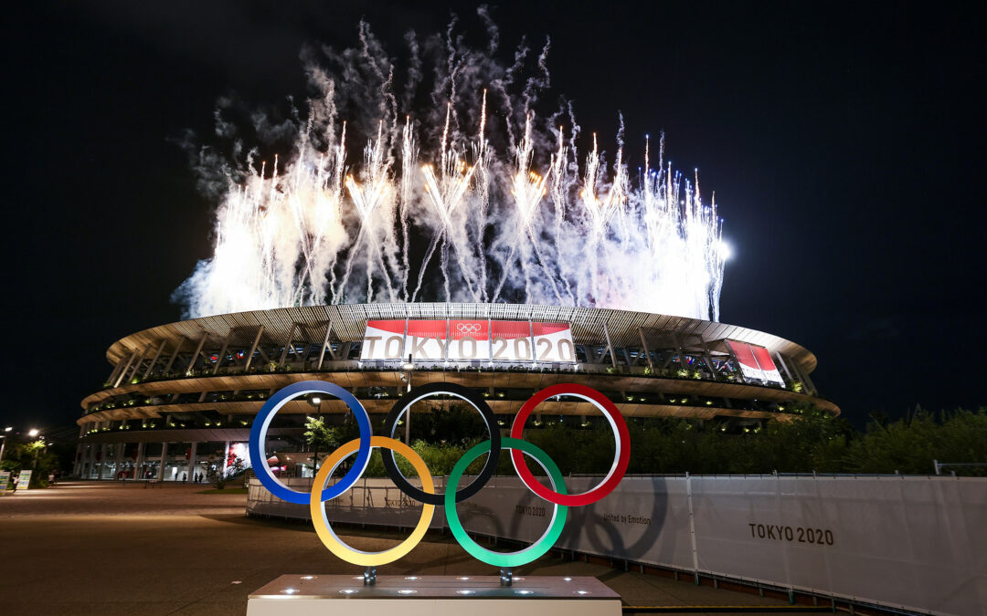 Tonight the Olympic Games officially open in Tokyo