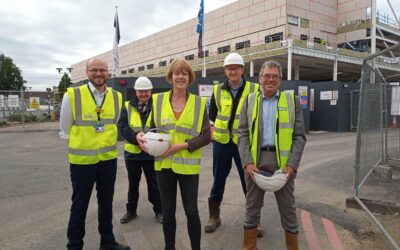 Progress with the new A&E at Walsall Manor